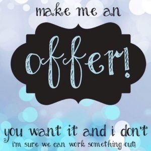 will accept reasonable offers :)